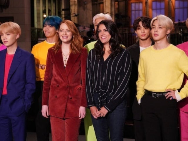 'SNL': Emma Stone and Cecily Strong Fan out Over BTS in Promo Bit