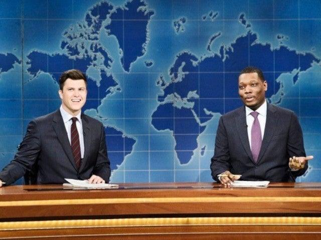 'SNL': 'Weekend Update' Roasts President Trump's 'Anti-Climb' Border Wall