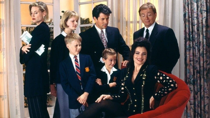 the nanny getty images