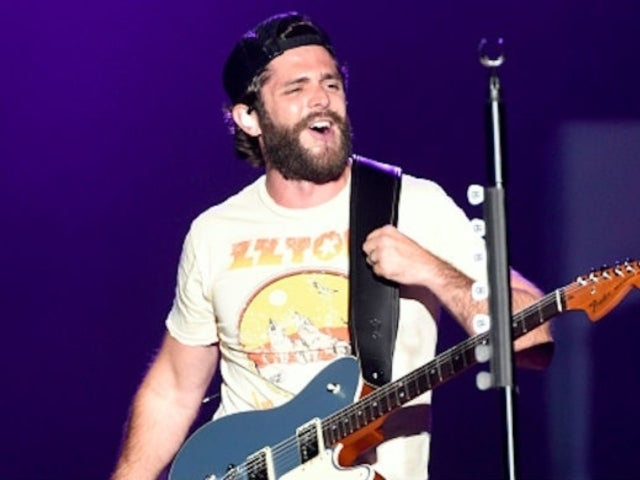 Thomas Rhett Gladly Endures Tea Parties and Manicures With His Daughters to Keep Them Happy