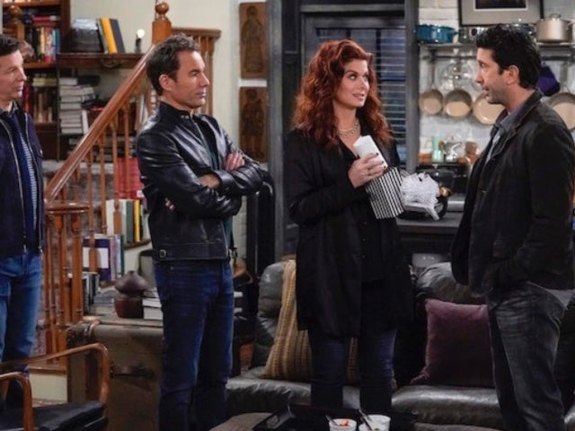 'Will & Grace': Debra Messing Says David Schwimmer Not Returning Next Season