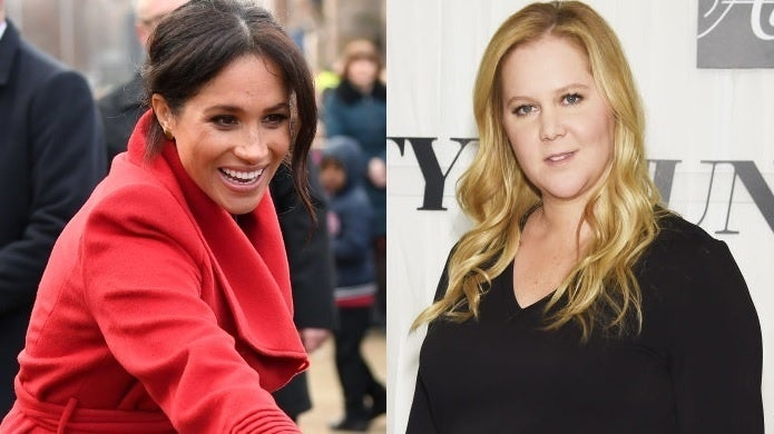 amy schumer meghan markle getty images