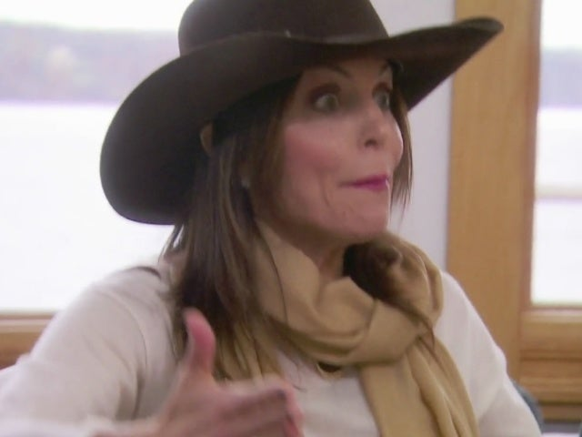 'RHONY': Bethenny Frankel Explodes on 'Narcissistic' Luann de Lesseps