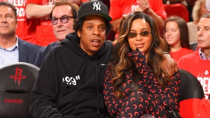 beyonce jay z rockets getty images