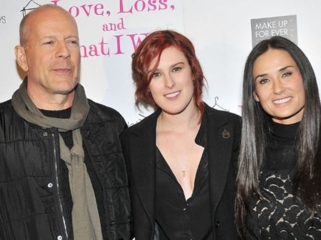 Rumer Willis Posts Adorable Throwback Photo With Dad Bruce