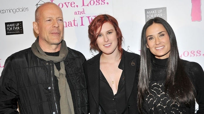 bruce willis demi moore rumer getty images