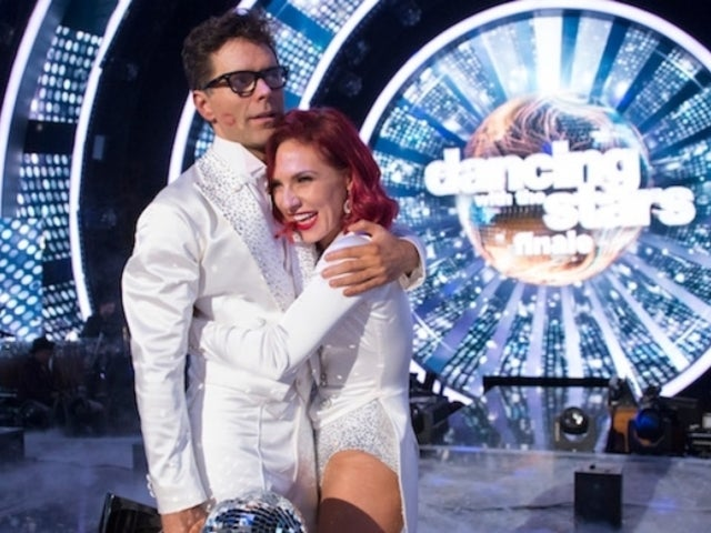 'DWTS': Reigning Champ Sharna Burgess Sends Love to Partner Bobby Bones and Current Dancers on Finale Night