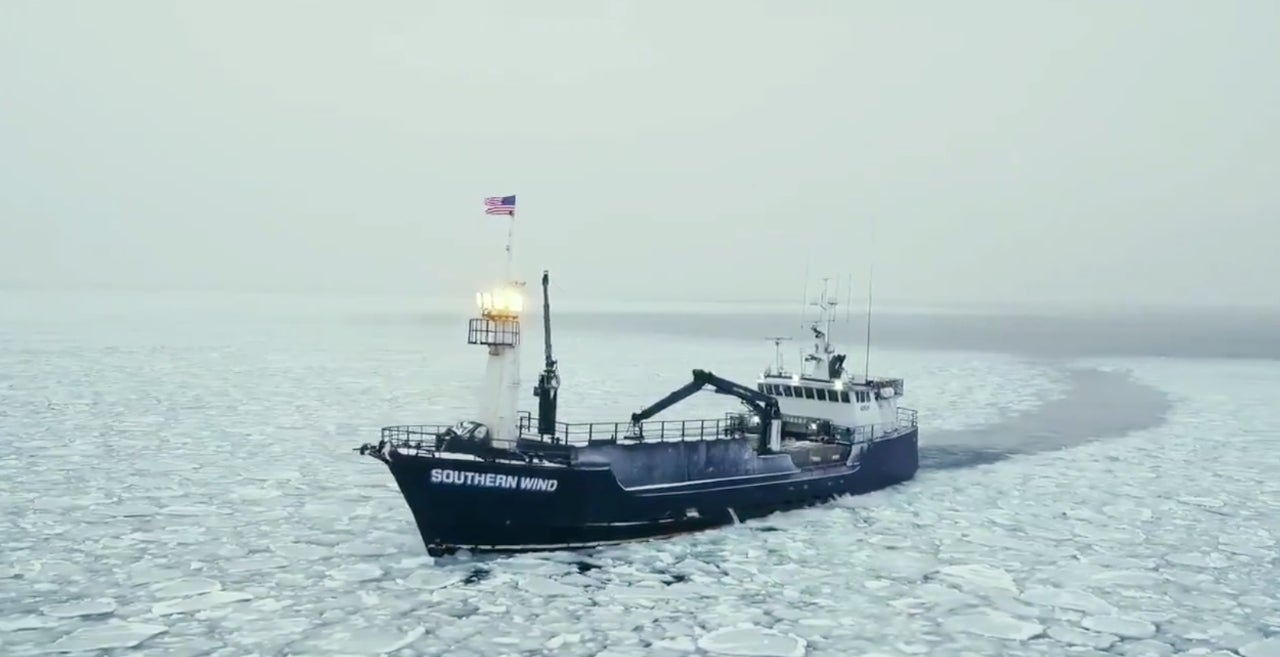 Deadliest Catch Winter Storm