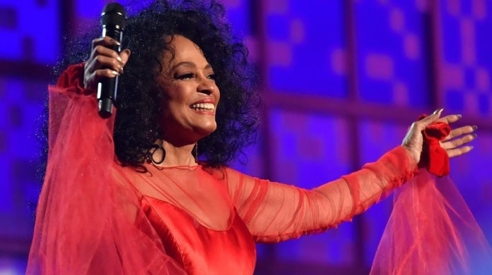 diana ross getty images