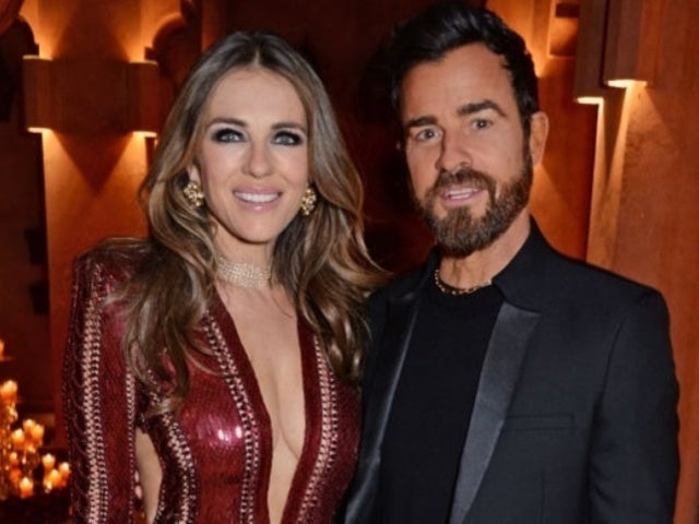 Elizabeth Hurley Shuts Down Justin Theroux Dating Rumors