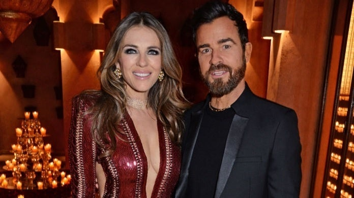 elizabeth hurley justin theroux getty images