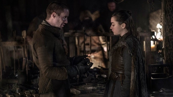 game of thrones gendry arya hbo