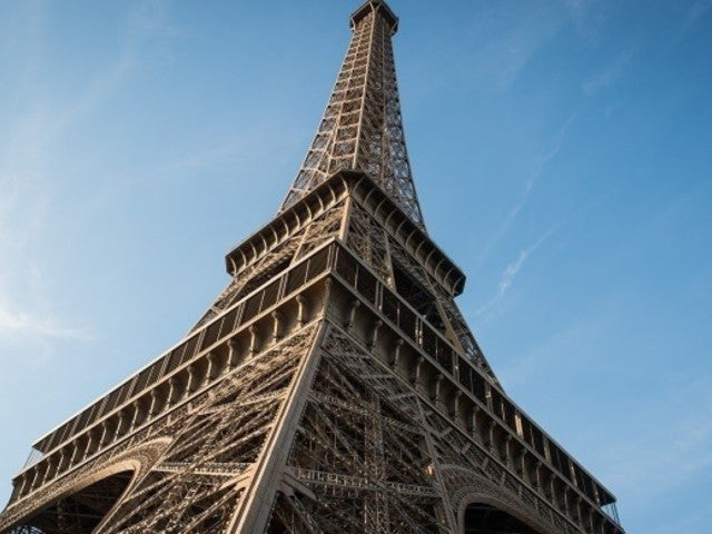 Eiffel Tower Closes as Man Climbs More Than Halfway up the 900-Foot Structure