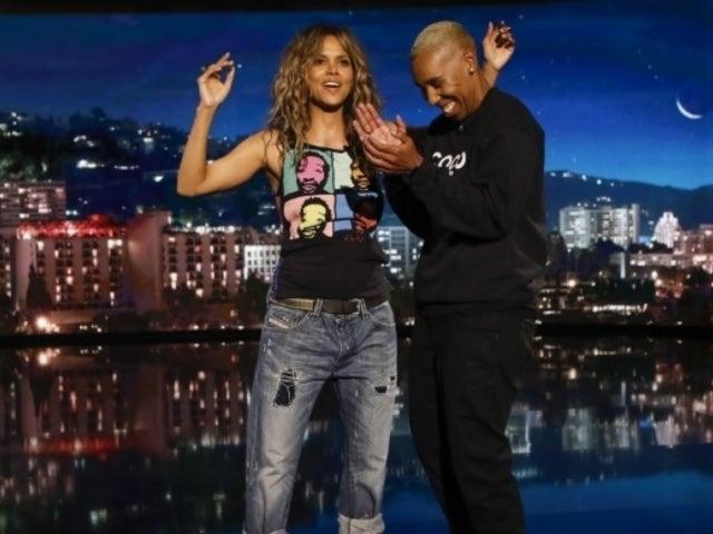 Watch Halle Berry Kiss Lena Waithe on 'Jimmy Kimmel Live'