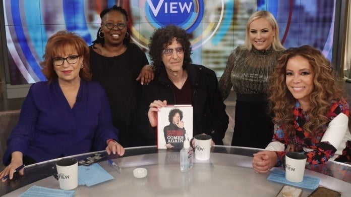 howard stern the view ABC