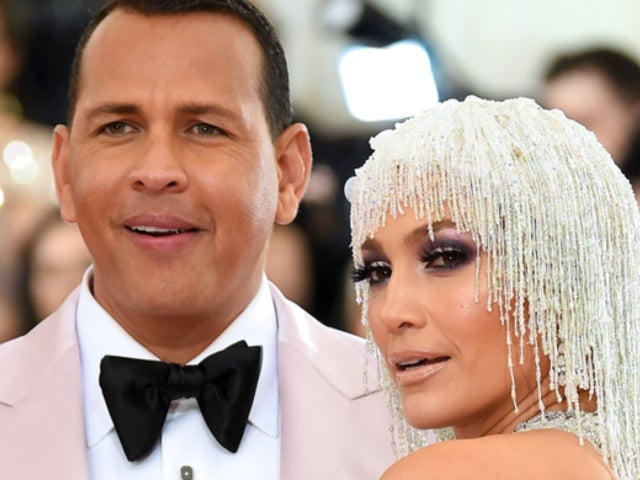 Met Gala: Jennifer Lopez Rocks Leggy, Low Cut Dress Alongside Alex Rodriguez, and Fans Are Here For It