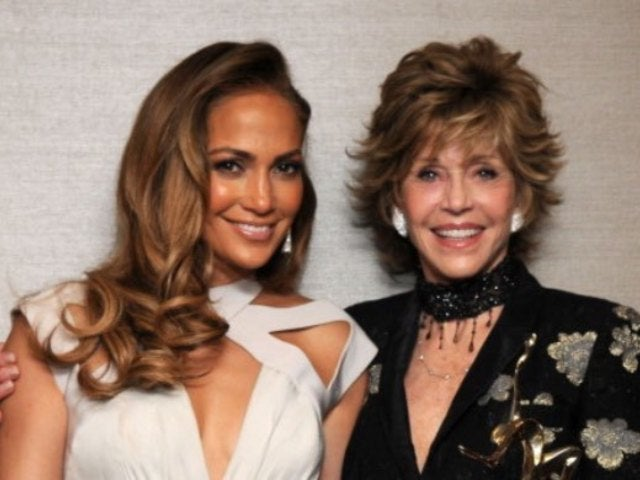 Jennifer Lopez Reveals Video of Her Punching Jane Fonda in the Face