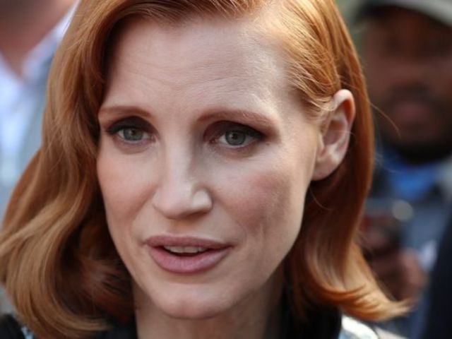Jessica Chastain Gets Bitten on Chest by Horse in Video: 'I Can't Believe I Survived That'