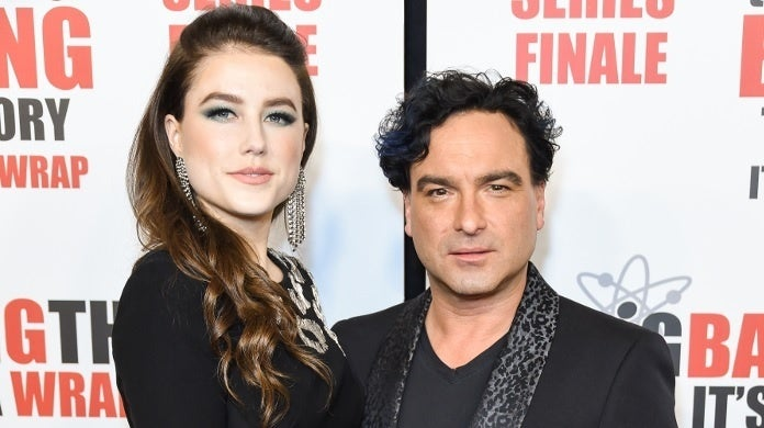 johnny galecki alaina meyer 2019 getty images