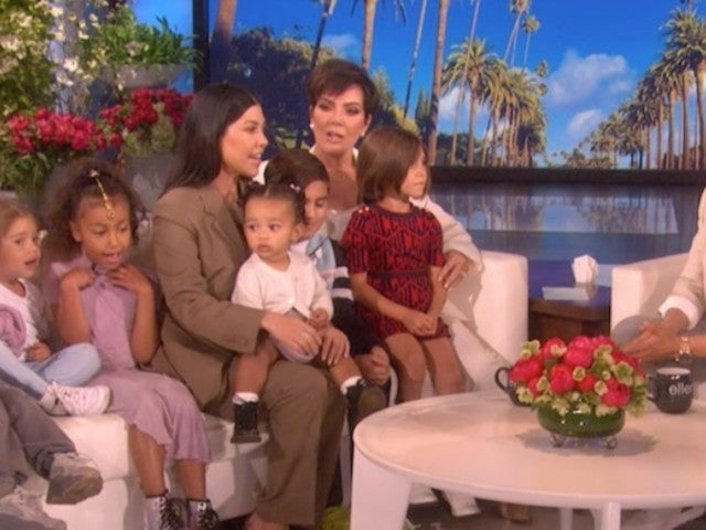 See Kris Jenner's Face After She Learns on 'Ellen' That Kim Kardashian's Surrogate Went Into Labor