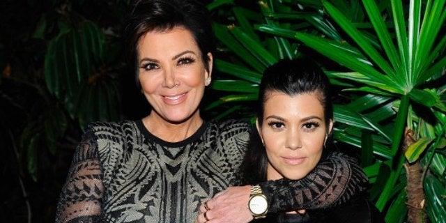 Kris Jenner and Kourtney Kardashian-2