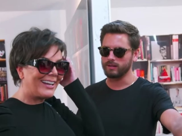 'KUWTK' Preview: Kris Jenner and Scott Disick Throw Shade in Hilarious Clip