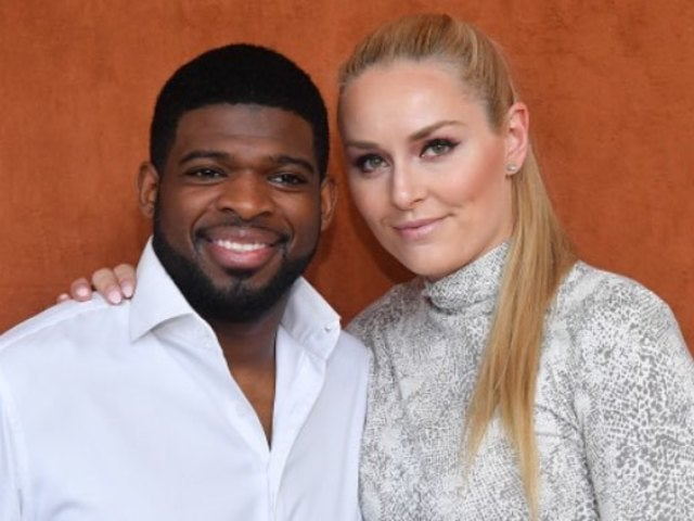 Lindsey Vonn and Boyfriend P.K. Subban Caught Smooching at French Open