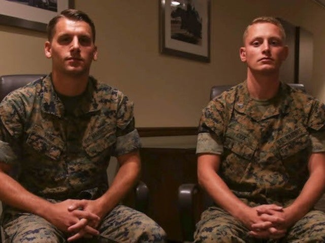 Two Marines Receive Highest Non-Combat Award for Actions During Route 91 Festival Shooting