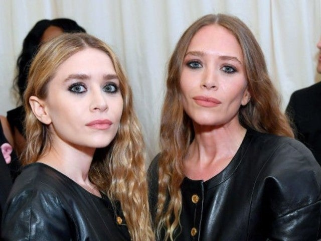 Met Gala: Mary-Kate and Ashley Olsen Resurface in Matching Leather Outfits