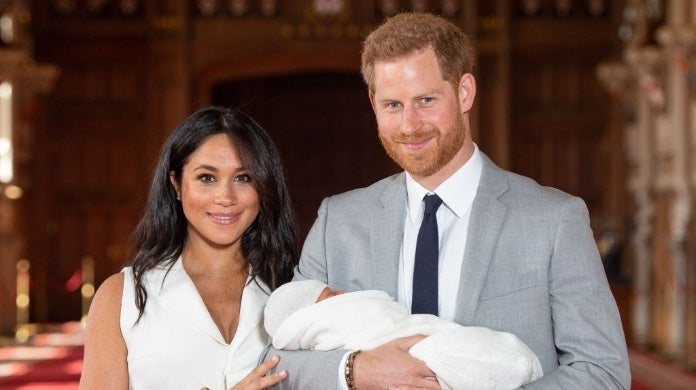 meghan markle prince harry archie WPA Pool