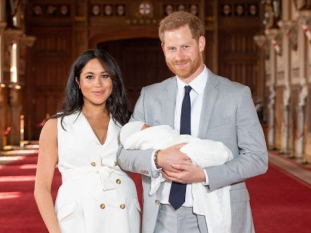 New Adorable Baby Archie Photo Released for Prince Harry's First Father's Day