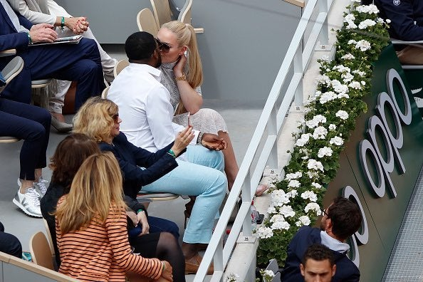 P.K. Subban and Lindsay Vonn - French Open