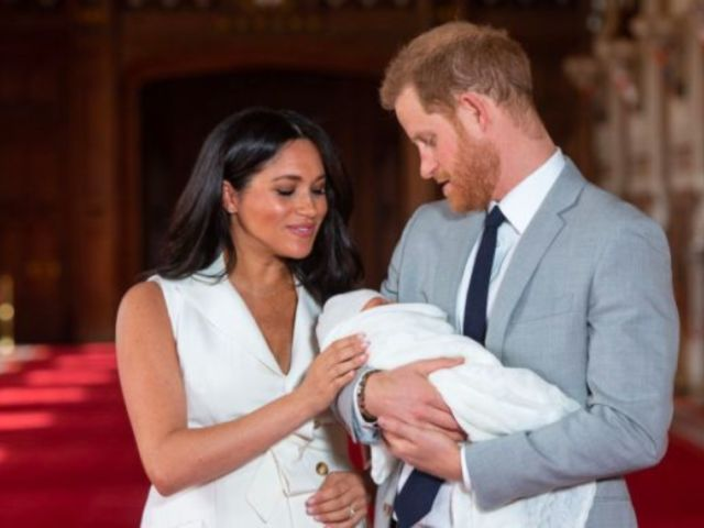 Royal Family Gathers for Family Photo at Baby Archie's Christening