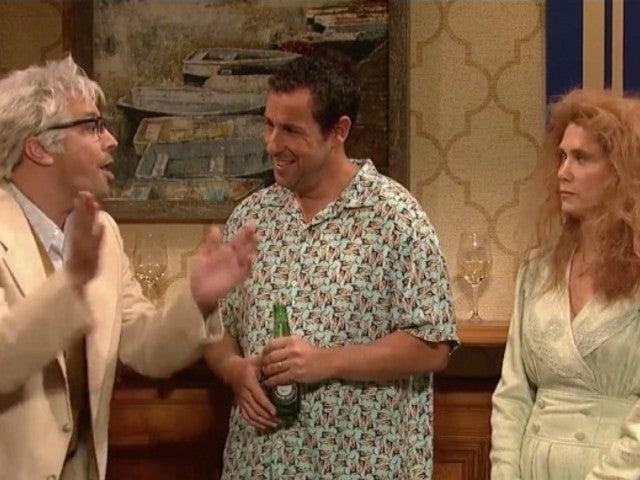 'SNL': Adam Sandler 'Family Reunion' Sketch Brings Back Kristen Wiig and Jimmy Fallon