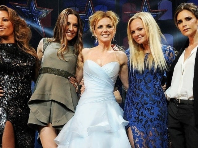 Victoria Beckham Encourages Fellow Spice Girls as Tour Kicks Off
