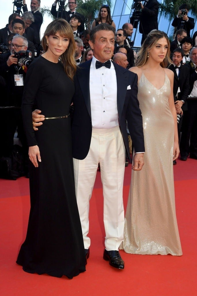 sylvester stallone sistine getty images cannes 1