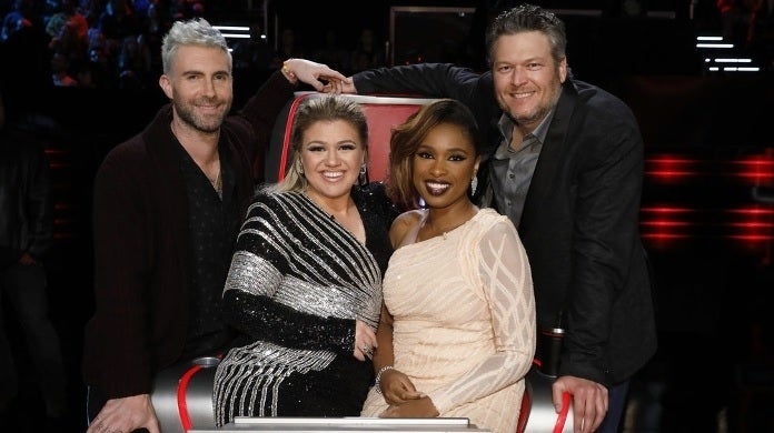 the voice adam levine jennifer hudson nbc