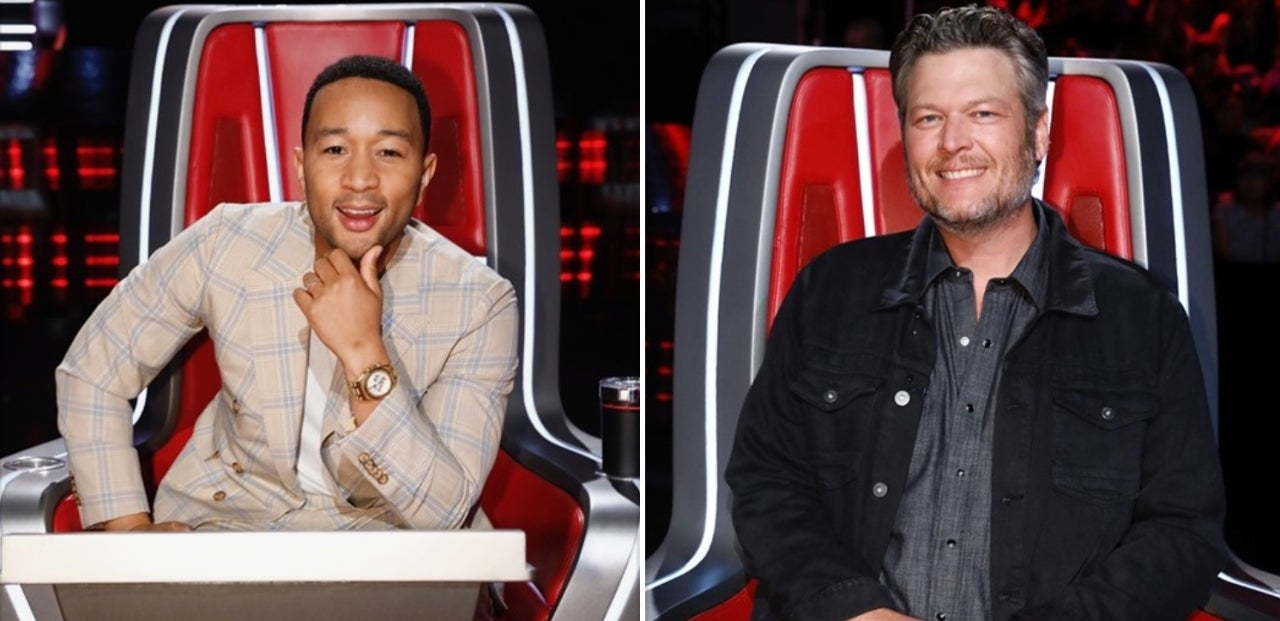 The Voice Team John Team Blake