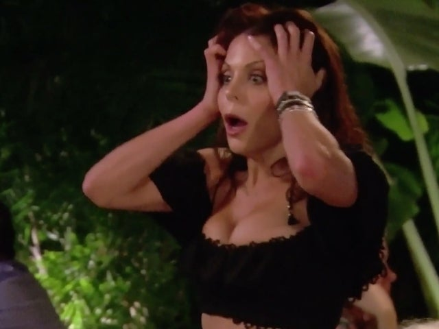 'RHONY': Bethenny Frankel Unloads on 'Sicko' Luann de Lesseps During 'Full-On Panic Attack'