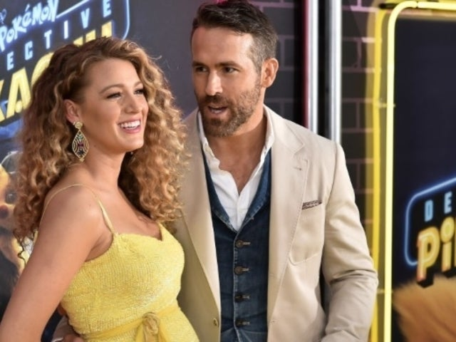 Blake Lively Shows off Her Baby Bump During Visit to Ryan Reynolds on Movie Set