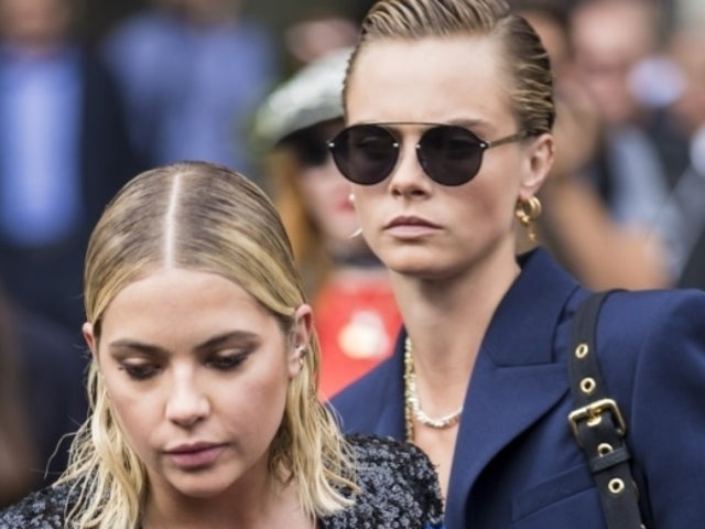 Cara Delevingne Shows off Her 'Pride' in Steamy Makeout Video With Girlfriend Ashley Benson