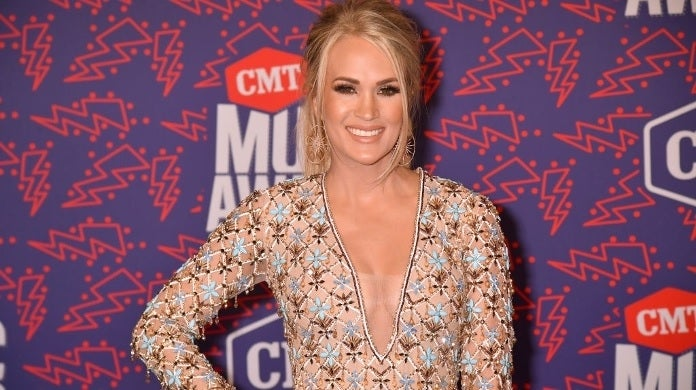 carrie underwood cmt music awards getty images red carpet