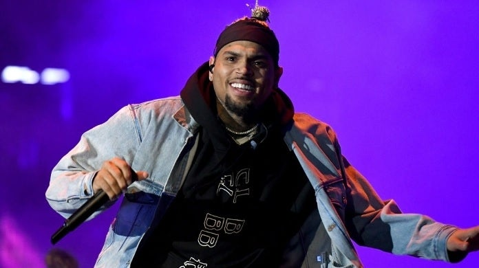 chris brown getty images