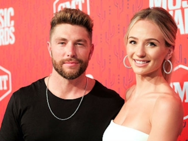 Chris Lane's Wedding Vows to 'The Bachelor' Alum Lauren Bushnell Interrupted by His Tears
