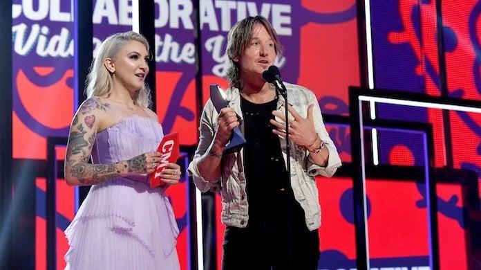 cmt-awards-keith-urban-julia-michaels-getty