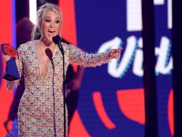 Carrie Underwood's CMT Awards Speech Was Ruined by Mic Issues, and Fans Weren't Happy