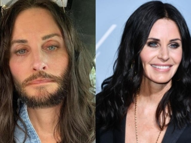 Courteney Cox Stirs Social Media After Replicating Jared Leto's Look, Beard and All