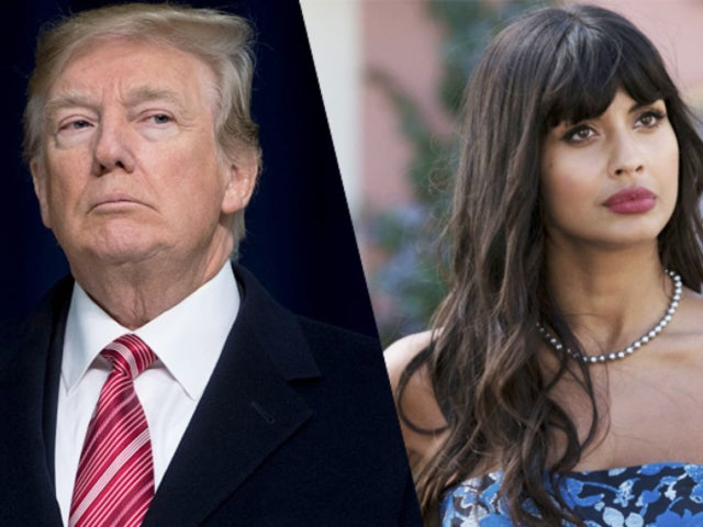 President Trump Called out by 'Good Place' Star Jameela Jamil for 'Nude Sunbathing' Kate Middleton Tweet