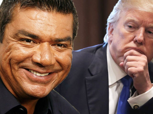 George Lopez Pokes Fun at President Trump's Son Barron and Social Media Chimes In