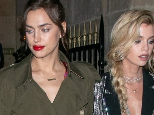 Irina Shayk and Friend Stella Maxwell Spotted Hand-in-Hand After Bradley Cooper Split